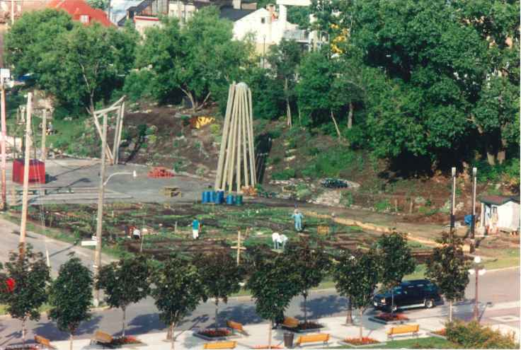 Ilot Fleurie Jardin Communautaire